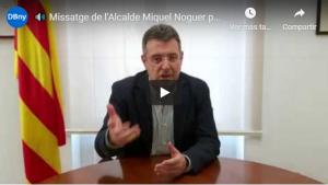Alcalde Miquel Noguer